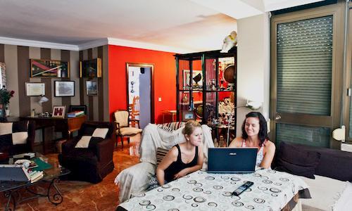 Shared flats in Seville Dinning Room