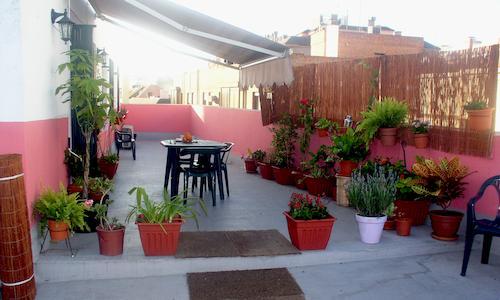 Gemeinschaftswohnungen mit Terrasse in Sevilla Spanien