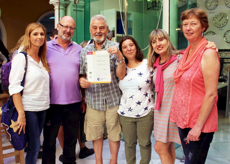 Курс испанского языка для студентов старше 50 лет в Севилье