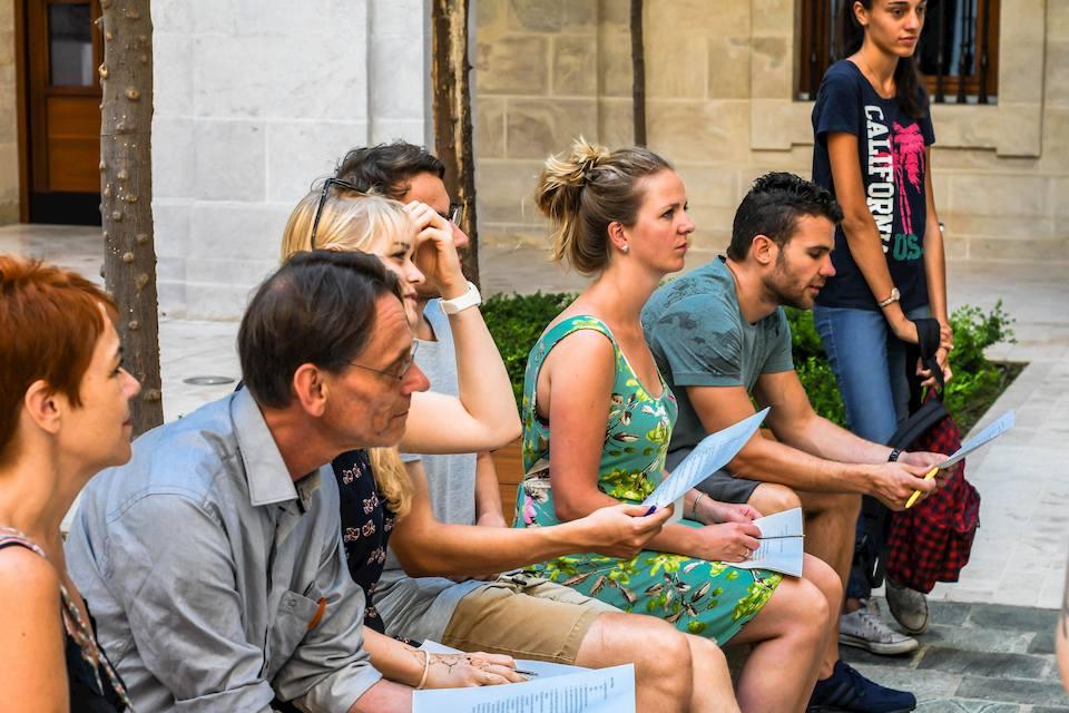 cours d'espagnol pour des groupes chez CLIC á Malaga