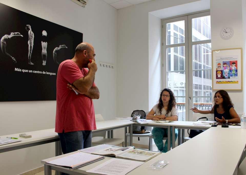 cours privés d'espagnol à malaga