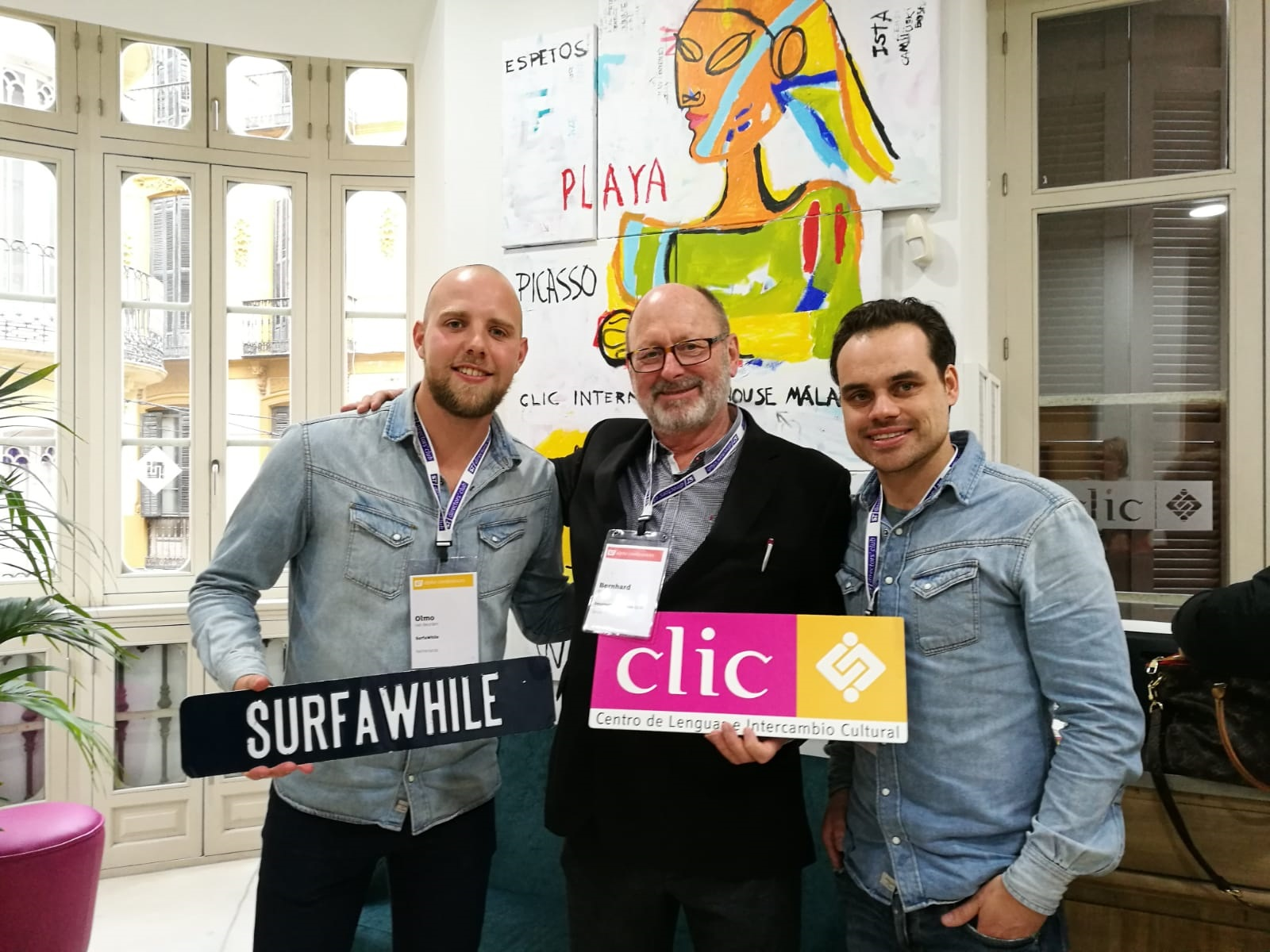 Our partner SurfaWhile about CLIC International House