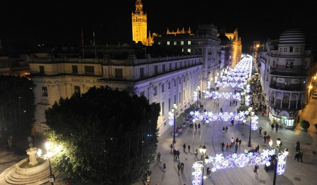 Four Ways to Celebrate  Christmas in Sevilla
