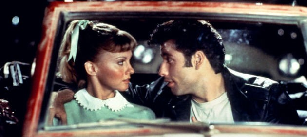 Grease the film